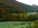 Paisatge i meteorologia de novembre al Ripollès Gebrada a l'entorn de Ripoll (1 de novembre). Foto: Antonina Coromina