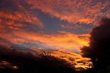 Paisatge i meteorologia de novembre al Ripollès Posta de sol a Ripoll (5 de novembre). Foto: Arnau Urgell