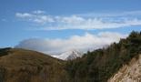 Paisatge i meteorologia de novembre al Ripollès El Costabona nevat, des de coll d'Ares (11 de novembre). Foto: Marcel Urgell