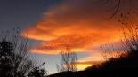 Paisatge i meteorologia de novembre al Ripollès Albada taronjosa a Ribes de Freser (11 de novembre). Foto: Josep Manuel Mercader/Meteoribes