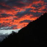 Paisatge i meteorologia de novembre al Ripollès Albada a Ripoll (13 de novembre). Foto: Arnau Urgell