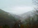 Paisatge i meteorologia de novembre al Ripollès Ambient de pluja a la Vall de Ribes (17 de novembre). Foto: Antonina Coromina