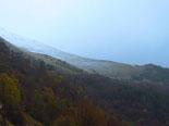 Paisatge i meteorologia de novembre al Ripollès Neu al Taga (17 de novembre). Foto: Antonina Coromina