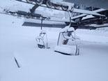 Paisatge i meteorologia de novembre al Ripollès Més de mig metre de neu a Vallter (18 de novembre). Foto. Quim Argemí
