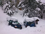 Paisatge i meteorologia de novembre al Ripollès La nevada a Pastuira s'acosta al metre de gruix (19 de novembre). Foto: El Mariner