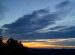Paisatge i meteorologia de novembre al Ripollès Albada a l'entorn de Ripoll (20 de novembre). Foto: Antonina Coromina