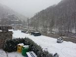 Paisatge i meteorologia de novembre al Ripollès Enfarinada matinal a Setcases (30 de novembre). Foto: Rosa Busquets