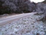 Paisatge i meteorologia de desembre al Ripollès Glaçada a l'entorn de Ripoll (9 de desembre). Foto: Antonina Coromina
