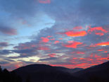 Paisatge i meteorologia de desembre al Ripollès Albadada a l'entorn de Ripoll (14 de desembre). Foto: Antonina Coromina