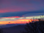 Paisatge i meteorologia de desembre al Ripollès Sortida de sol a l'entorn de Ripoll (19 de desembre). Foto: Antonina Coromina