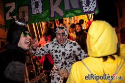 El resum del 2014 al Ripollès, en imatges Carnesoltes a Campdevànol. Foto: Rastres Fotografia
