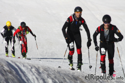El resum del 2014 al Ripollès, en imatges L'Skimarathon, primera prova d'esquí de muntanya de llarga distància. Foto: Arnau Urgell