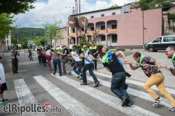 El resum del 2014 al Ripollès, en imatges Un Sant Eudald en verd i blau. Foto: Rastres Fotografia