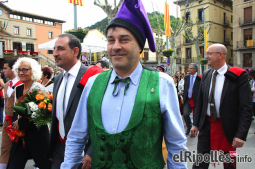 El resum del 2014 al Ripollès, en imatges Jordi Munell, habillat per al Casament a Pagès de Ripoll. Foto: Arnau Urgell