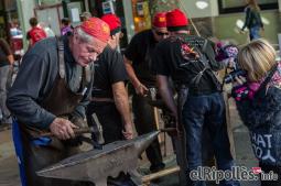 El resum del 2014 al Ripollès, en imatges Biennal del Metall de Campdevànol. Foto: Adrià Costa