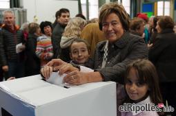 El resum del 2014 al Ripollès, en imatges La il·lusió del 9-N. Foto: Marc Cargol
