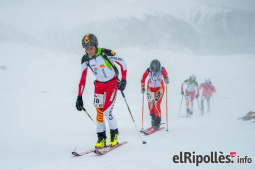 El resum del 2014 al Ripollès, en imatges La Cronovallter, entre el vent, la neu i el fred. Foto: Josep Maria Montaner