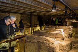 Ferran Mascarell visita l'església de Sant Pere i la Necròpolis del Monestir</br>de Ripoll