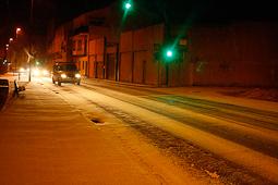 Nevada del 4 de febrer a Ripoll Carrer Progrés nevat el dimarts 4 de febrer (6.45). Foto: Arnau Urgell