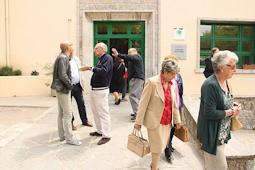 Municipals 2015: candidats del Baix Ripollès i ambient matinal Ambient electoral a Camprodon. Foto: Marcel Urgell