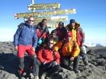 Els 7 cims d'Albert Bosch Cim del Kilimanjaro