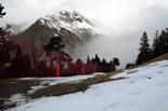 Vall de Núria: a punt per la temporada d'esquí Les cotes mitges i altes ja estan cobertes de neu natural.