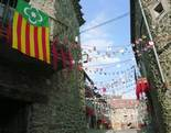 Festa Major de Pardines Carrers engalanats. Foto: Joan Vila i Triadú