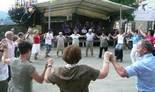 Festa Major de Pardines Sardanes amb la Principal de Berga. Foto: Joan Vila i Triadú