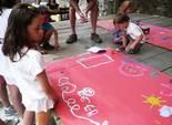 Festa Major de Pardines Taller de manualitats. Foto: Joan Vila i Triadú
