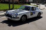 El Rally Costa Brava Històric al pas per Sant Pau