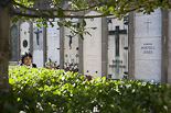 Diada de Tots Sants al cementiri de Ripoll