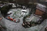 Calamarsada del 12 de març Calamarsada a Ripoll. Foto: Arnau Urgell