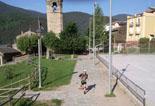 Ultratrail els Bastions de la Vall de Ribes Xevi Guinovart a Planoles. Foto: Roger Peñarroya