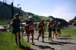 Ultratrail els Bastions de la Vall de Ribes Primers metres de la trail a Núria. Foto: Arnau Urgell