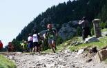 Ultratrail els Bastions de la Vall de Ribes El ripollès Dani Ballesteros a punt d'arribar a Núria. Foto: Arnau Urgell