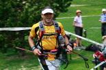 Ultratrail els Bastions de la Vall de Ribes Un corredor de la ultratrail entrant a la zona del llac de Núria. Foto: Arnau Urgell