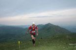 Ultratrail els Bastions de la Vall de Ribes Juan Miguel Cuenca, al cim del Taga. Foto: www.corriolsdellum