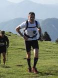 Ultratrail els Bastions de la Vall de Ribes Els corredors de la ultratrail al pas per la Covil. Foto: Marta Alsina