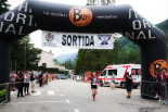 Ultratrail els Bastions de la Vall de Ribes Arribada Carmen Garcia, segona classificada trail. Foto: Laia Deler