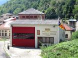 Diada Nacional: estelades al Ripollès Parc de bombers de Ribes de Freser: Foto: Laia Deler