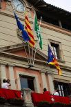 Diada Nacional: estelades al Ripollès Ajuntament de Ripoll. Foto: Arnau Urgell