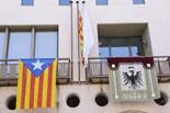 Diada Nacional: estelades al Ripollès Ajuntament de Sant Joan: Foto: Marc Cargol