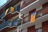 Diada Nacional: estelades al Ripollès Sant Joan. Foto: Carles Martínez