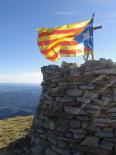 Diada Nacional: estelades al Ripollès Puig Estela. Foto: Els Fills de la Terra