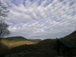 Paisatge i meteorologia desembre 2011 i gener 2012 Núvols cabretes a Ribes de Freser (12 de desembre). Foto: Josep Manuel Mercader/Meteoribes