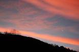 Paisatge i meteorologia desembre 2011 i gener 2012 Capvespre a Sant Joan de les Abadesses (22 de desembre). Foto: ElRipollès.info