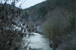 Paisatge i meteorologia desembre 2011 i gener 2012 Glaçada a Ripoll (27 de desembre). Foto: Arnau Urgell