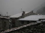 Enfarinada del 14 de febrer a la Vall de Camprodon Setcases emblanquinat. Foto: Ajuntament de Setcases