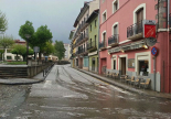 Neu, pluja i calamarsa 15-18 de maig Calamarsa a Camprodon (16 de maig). Foto: Dani Rodríguez