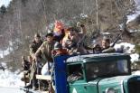 El 2009 al Ripollès, en 100 imatges Commemoració dels 70 anys de la retirada republicana (Coll d'Ares, Molló, 7 de febrer)